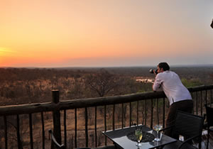 Taking Pictures at Victoria Falls Safari Club