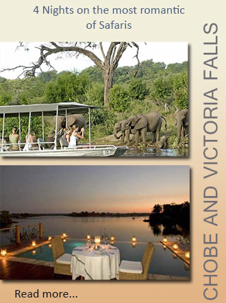 Romantic 4 nights to Chobe Chilwero and Sussi Lodge