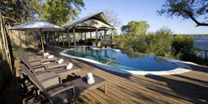 Victoria Falls Accommodation at Toka Leya Camp