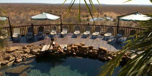 Victoria Falls Safari Lodge in Victoria Falls