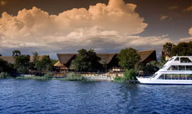 Zambezi River and David Livingstone Lodge